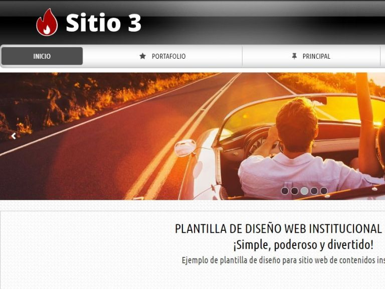 Autos Demo 3, demo de diseño web para automotora. - AUTOS 3 . Diseño sitio web automotora rentadora