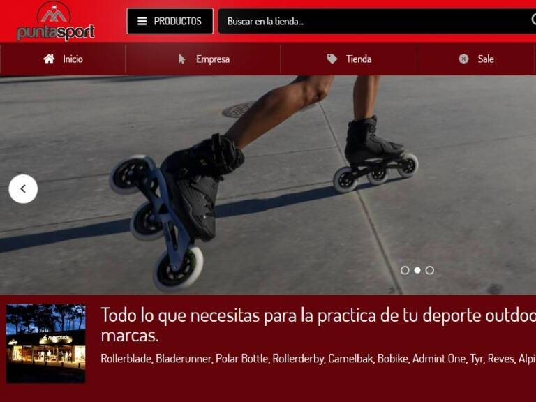 Todo lo que necesitas para la práctica de tu deporte outdoor, con los mejores precios y las mejores marcas. - Punta Sport