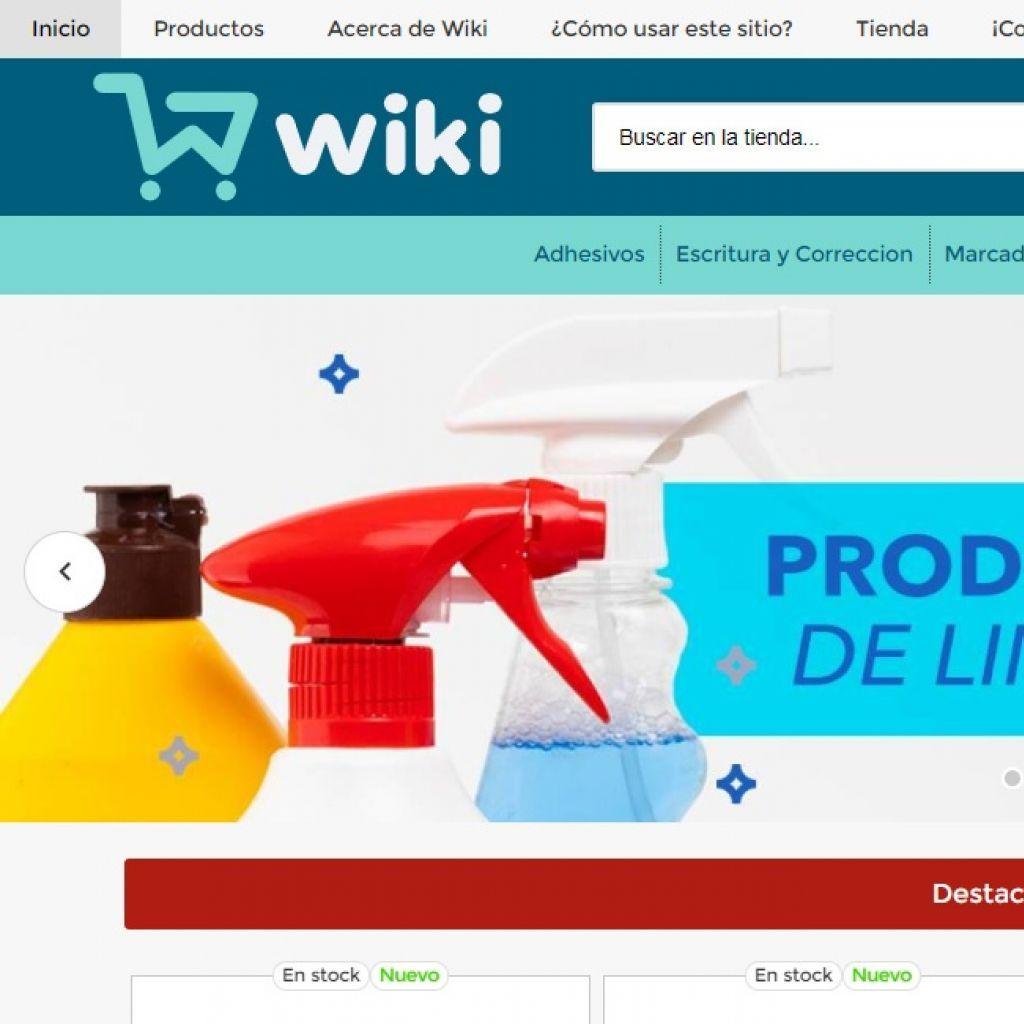 Wiki insumos de papelería.